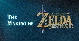 The Legend of Zelda Breath of the Wild: il Making of in tre parti