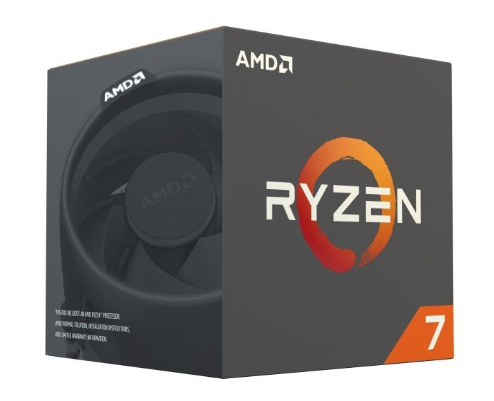 Svelati i dettagli sui processori Ryzen di AMD box