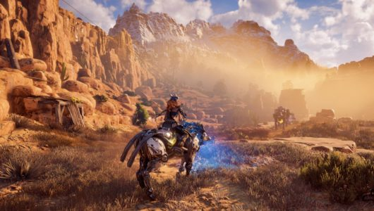 Horizon Zero Dawn complete edition trailer lancio