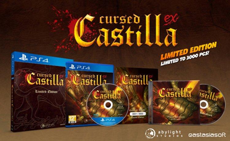 Cursed Castilla EX limited edition ps4 retail