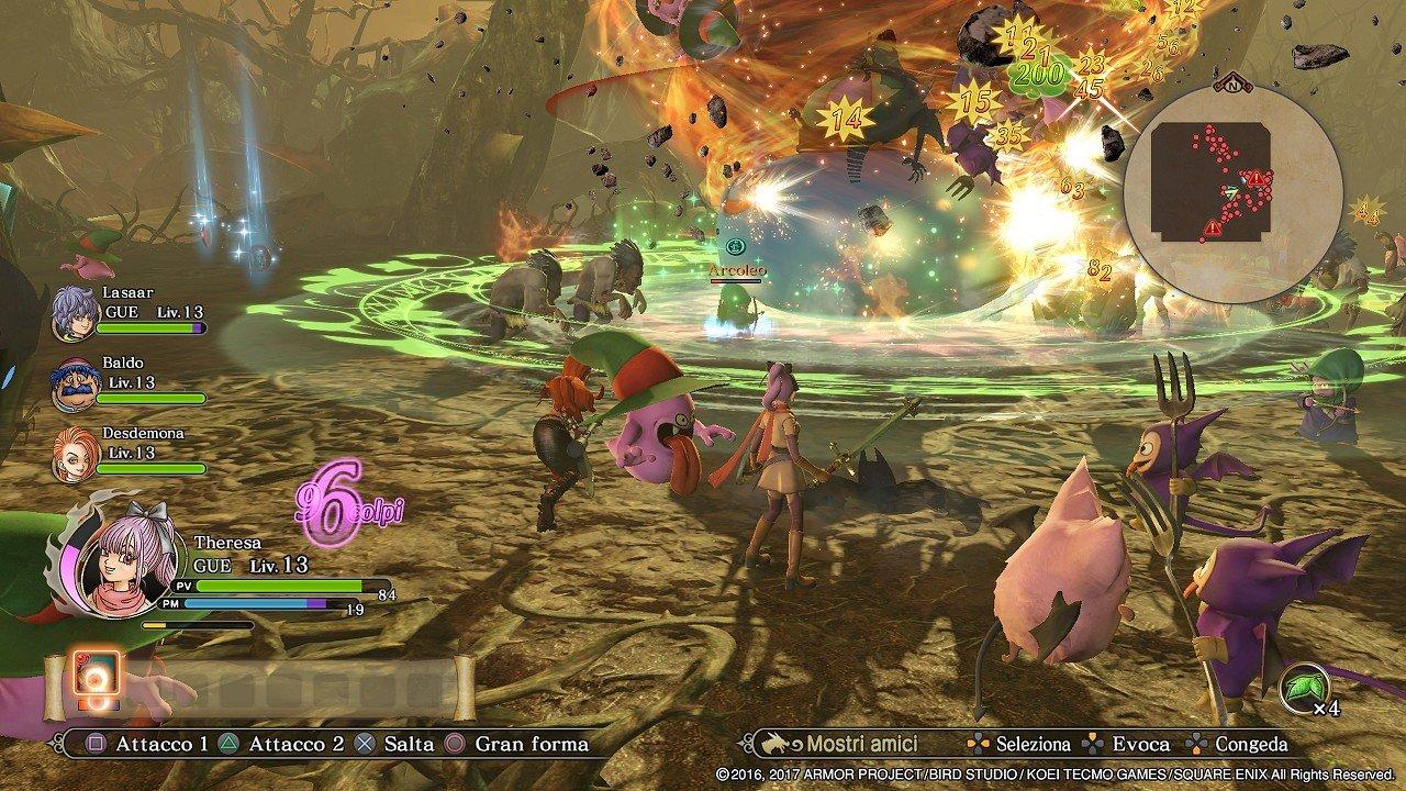 Dragon Quest Heroes II immagine PS3 PS4 PS Vita Switch 07
