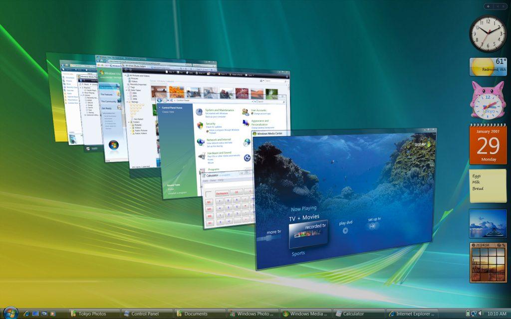 Windows vista microsoft supporto