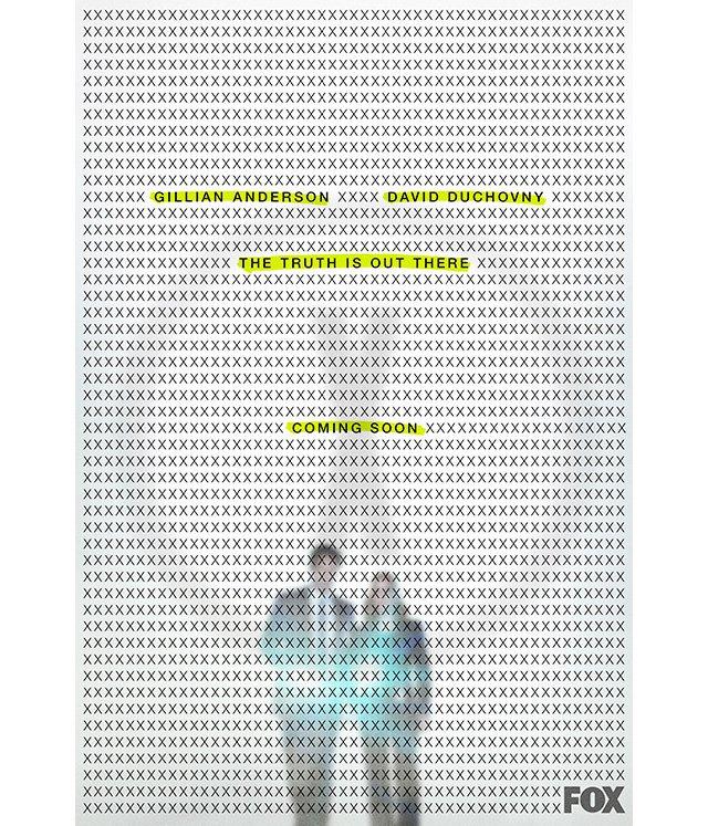 X-Files nuova stagione poster