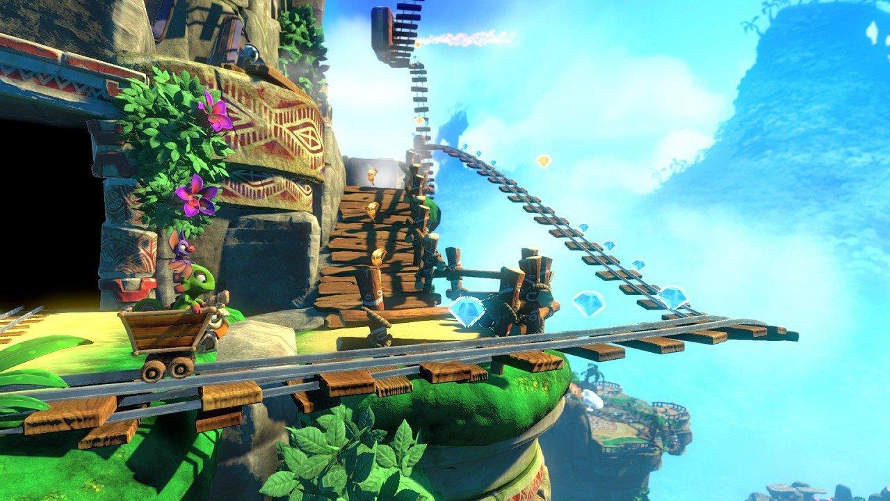 Yooka-Laylee immagine PC PS4 Wii U Xbox one 05