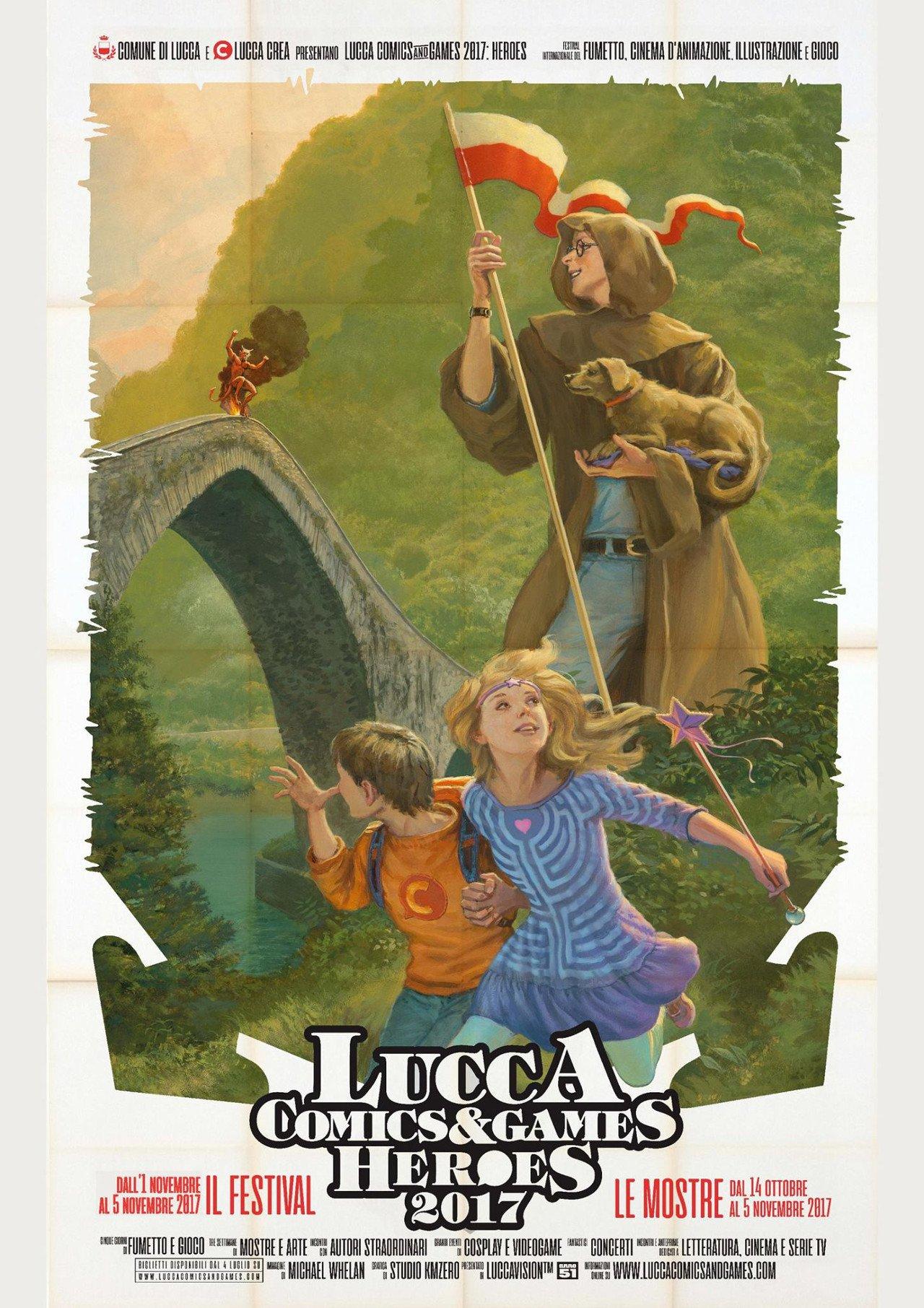 Lucca Comics & Games 2017: il tema di quest'anno saranno gli eroi