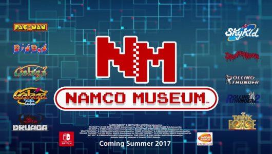 Namco Museum annunciato per Nintendo Switch
