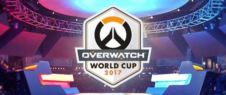Overwatch World Cup 2017 gironi