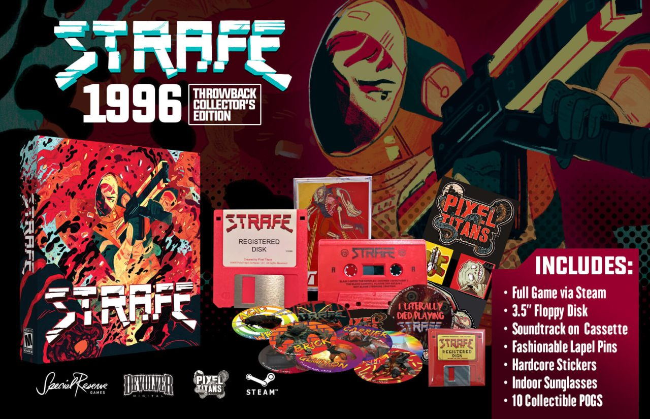 Strafe Collectors Edition