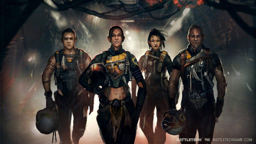 paradox interactive harebrained schemes Battletech video gameplay data beta