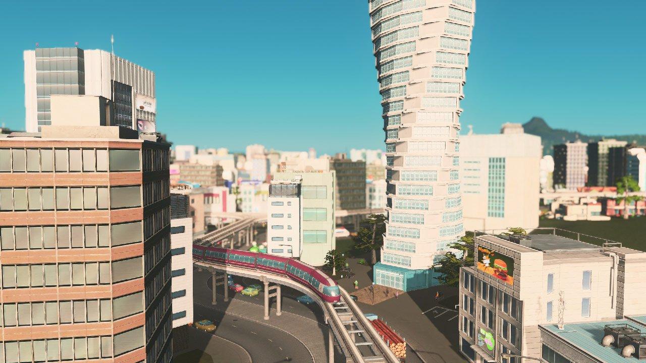 Cities Skylines Mass Transit PC immagine