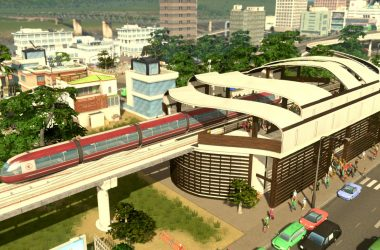 Cities Skylines Mass Transit PC immagine apertura