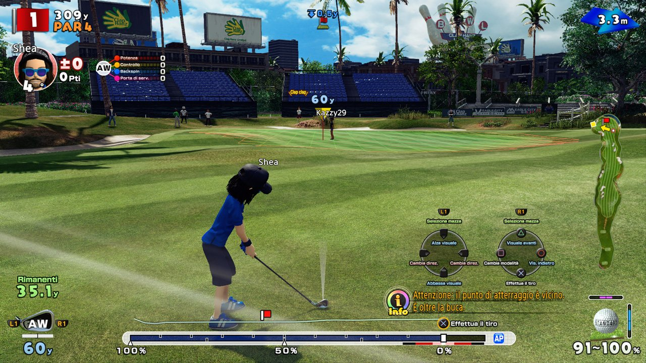 Everybody's Golf immagine PS4 03