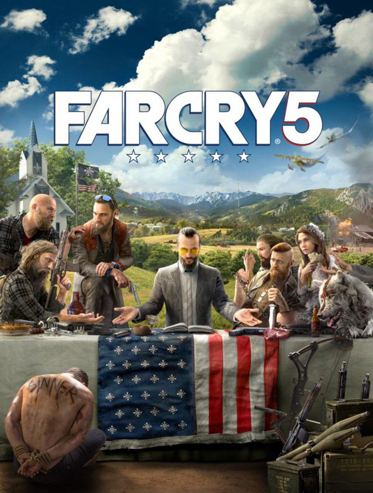 Far Cry 5: diamo un'occhiata alla key art ufficiale del gioco