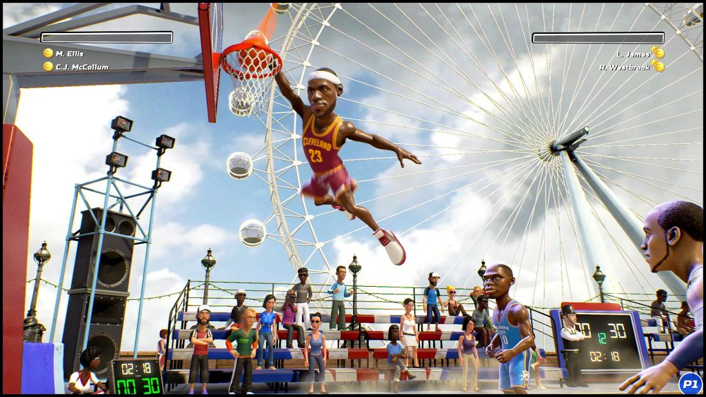 NBA Playgrounds enhanced edition switch