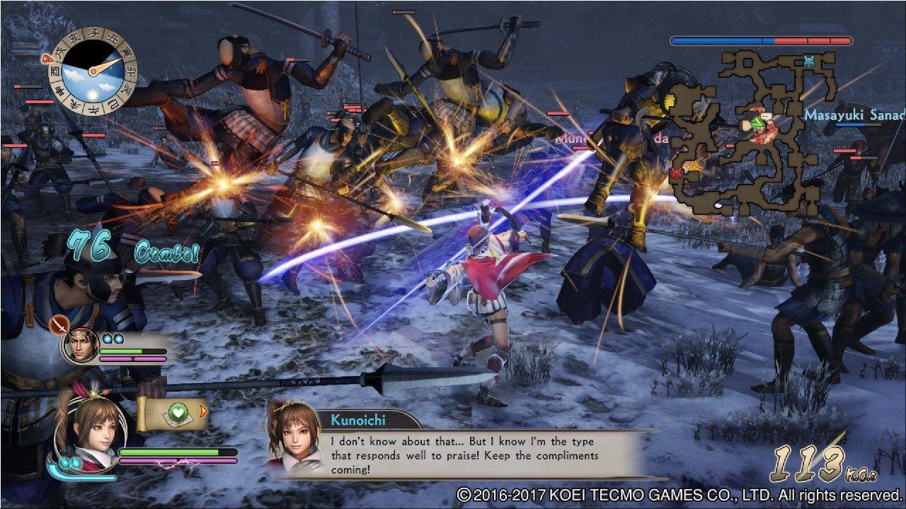 Samurai warriors spirit of sanada recensione pc ps4 tgm for Spirit colonna sonora