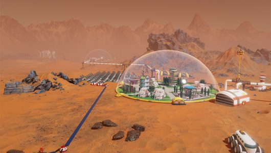 Surviving Mars trailer gameplay