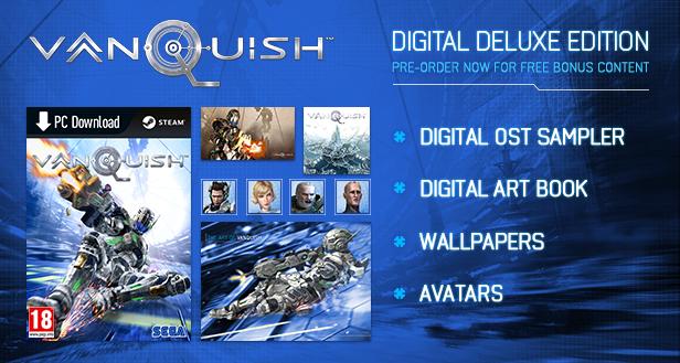 Vanquish PC Steam pre-order