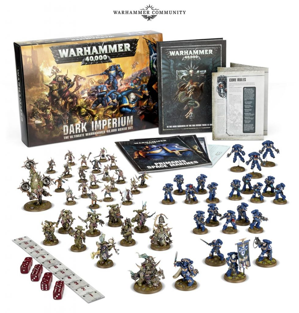 Warhammer 40.000 Dark Imperium scatola base