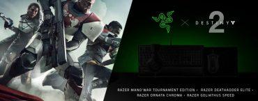 Destiny 2: in arrivo delle periferiche a tema Razer