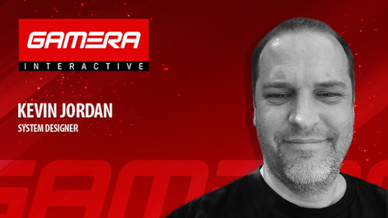 Gamera Interactive dà il benvenuto al system designer Kevin Jordan