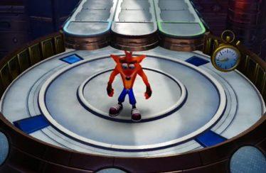 Crash Bandicoot N. Sane Trilogy: vediamo un Time Trial di Future Frenzy