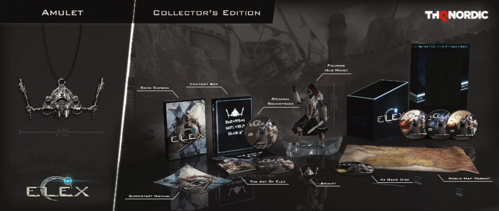 ELEX PC PS4 Xbox One collector's edition