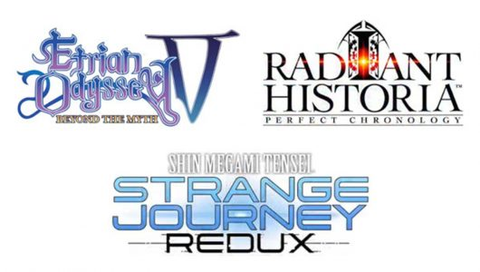 Etrian Odyssey V, Radiant Historia e Strange Journey Redux in Europa