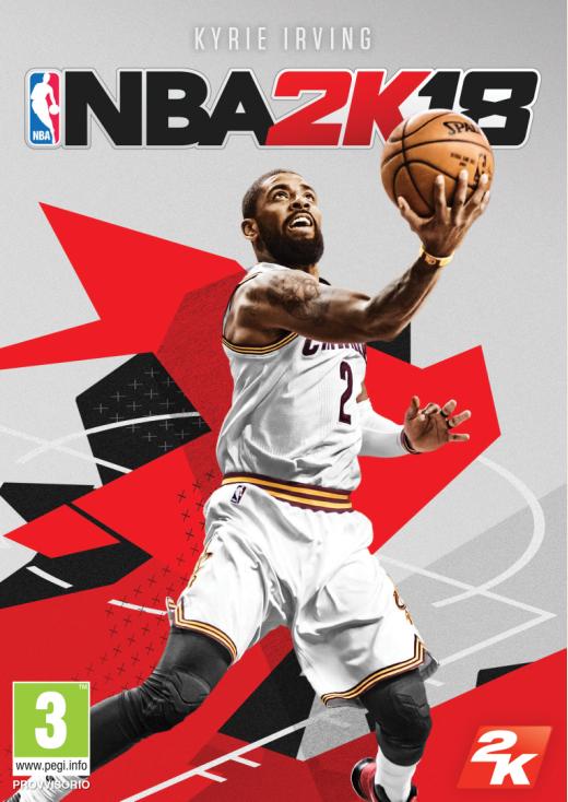 NBA 2K18 copertina