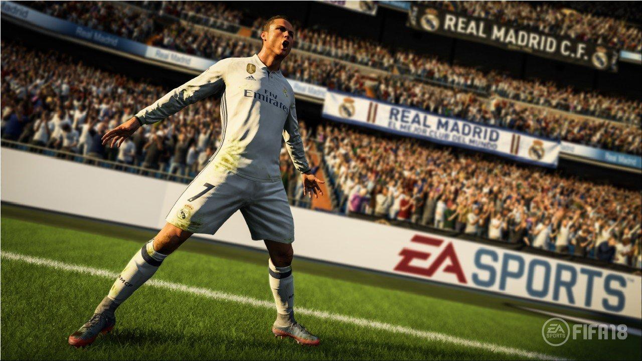 Cristiano Ronaldo è la cover star di FIFA 18