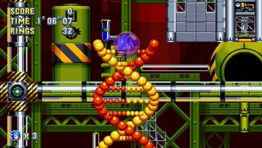 Sonic Mania: vediamo la Chemical Plant Zone in un nuovo trailer