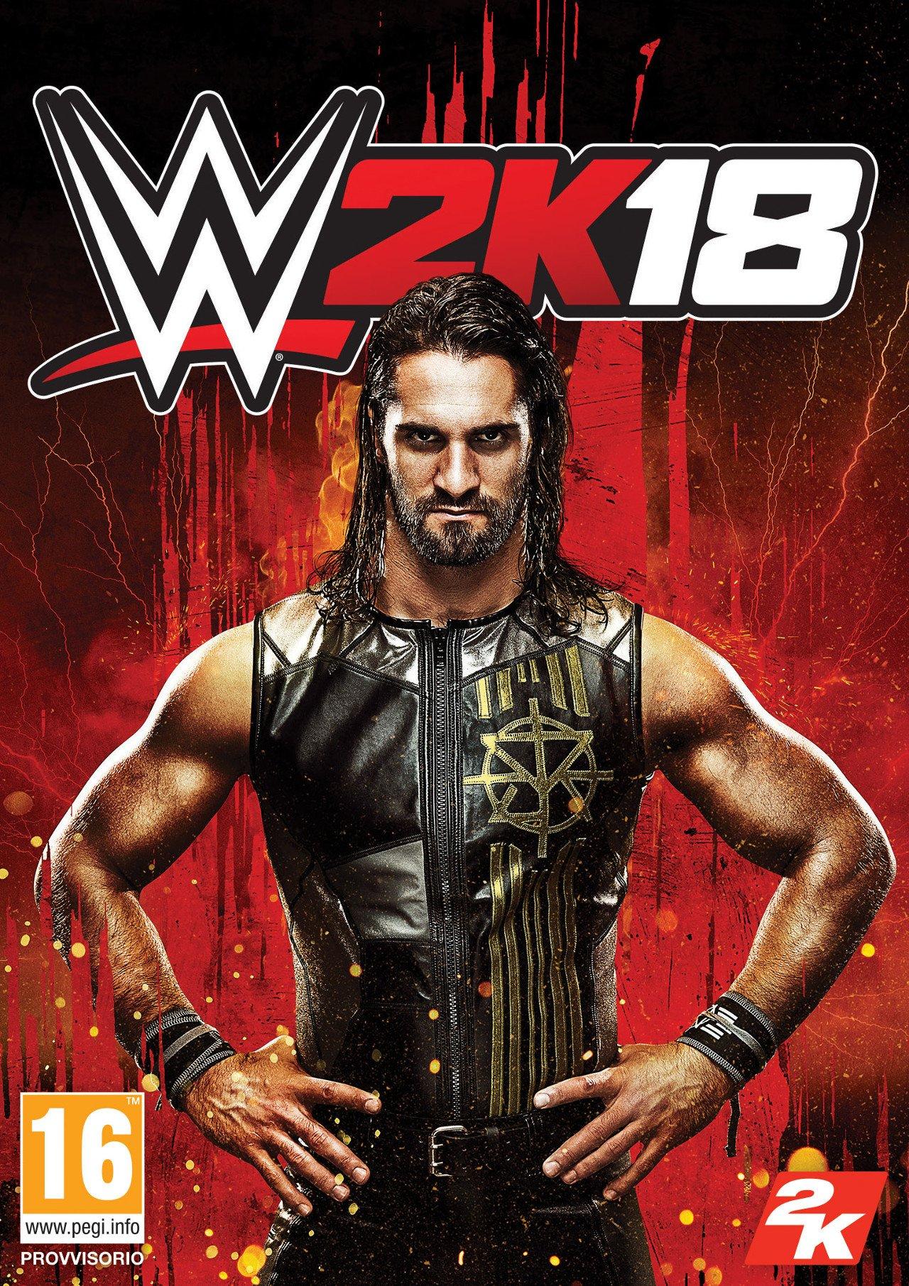 WWE 2K18: l'atleta di copertina di quest'anno sarà Seth Rollins