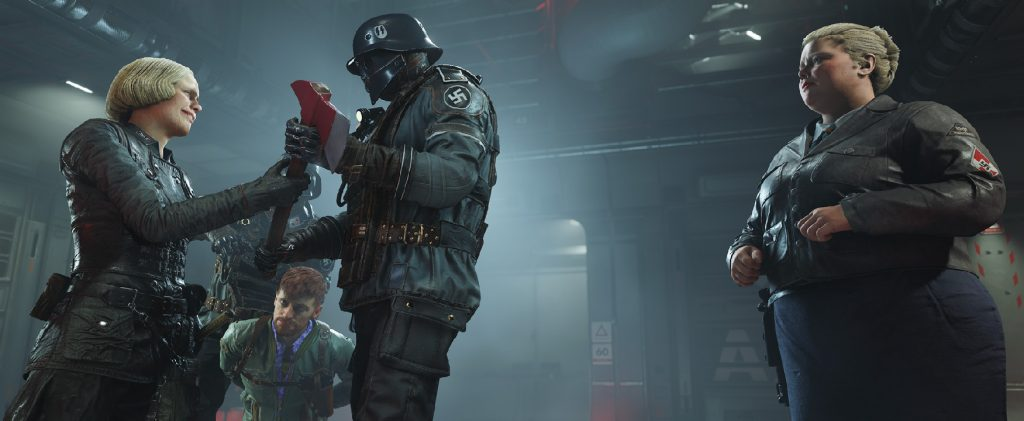 Wolfenstein II nintendo switch data