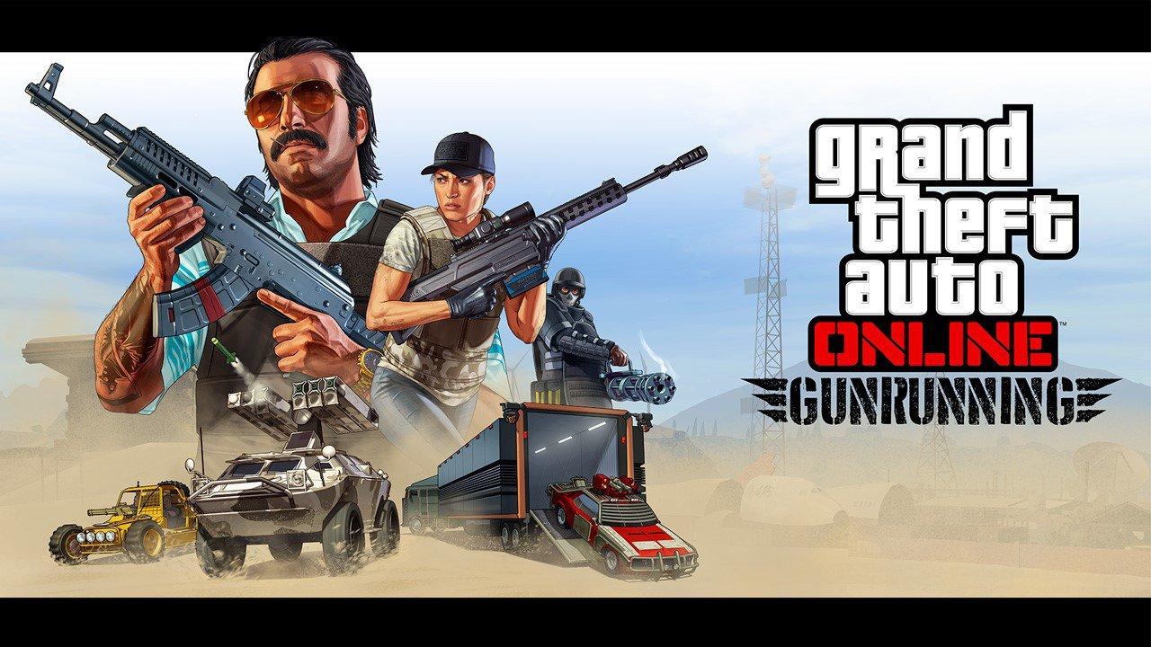 """GTA Online: disponibile il nuovo aggiornamento """"Traffico d'armi"""""""