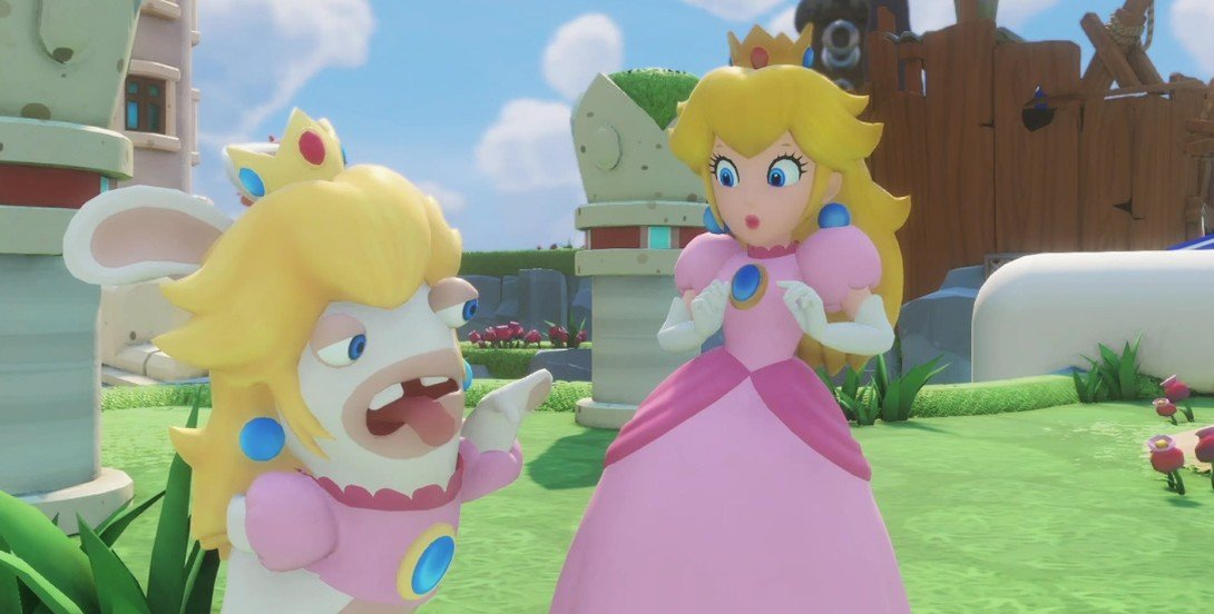 mario + rabbids kingdom battle e3 2017 apertura news ubisoft 2
