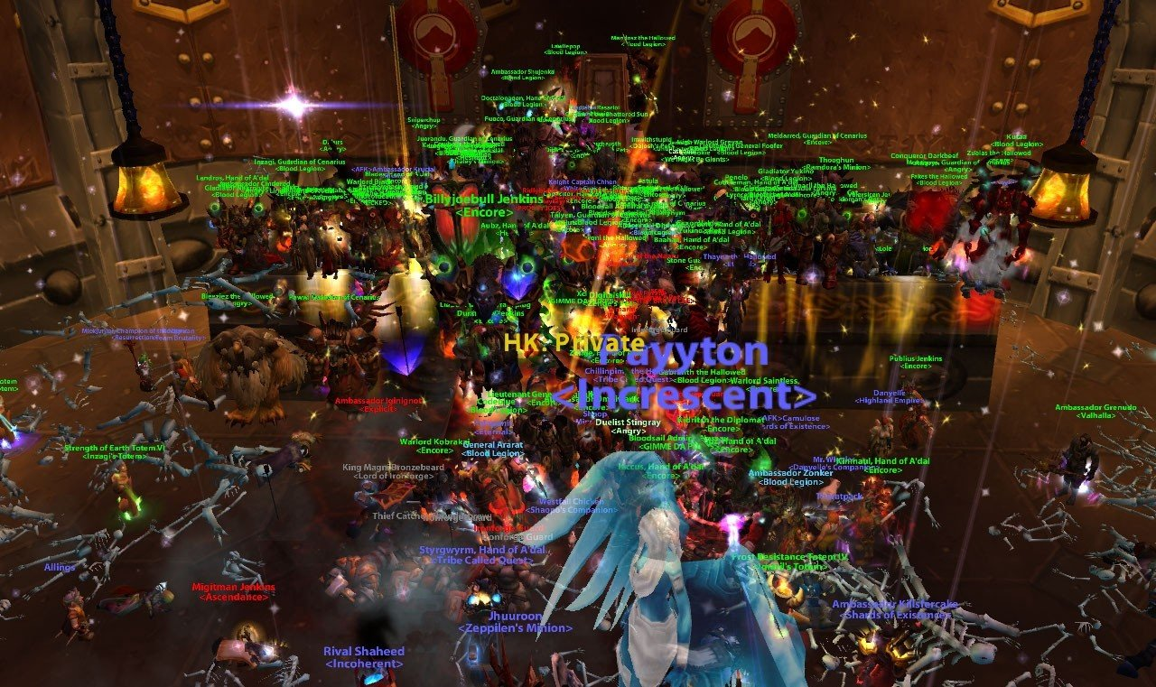 never online world of warcraft
