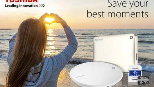 Toshiba presenta le soluzioni storage per la nostra estate