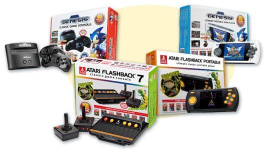 Atari Flashback 8 Gold Sega Genesis Flashback