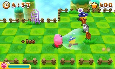 Kirby's Blowout Blast immagine 3DS 01