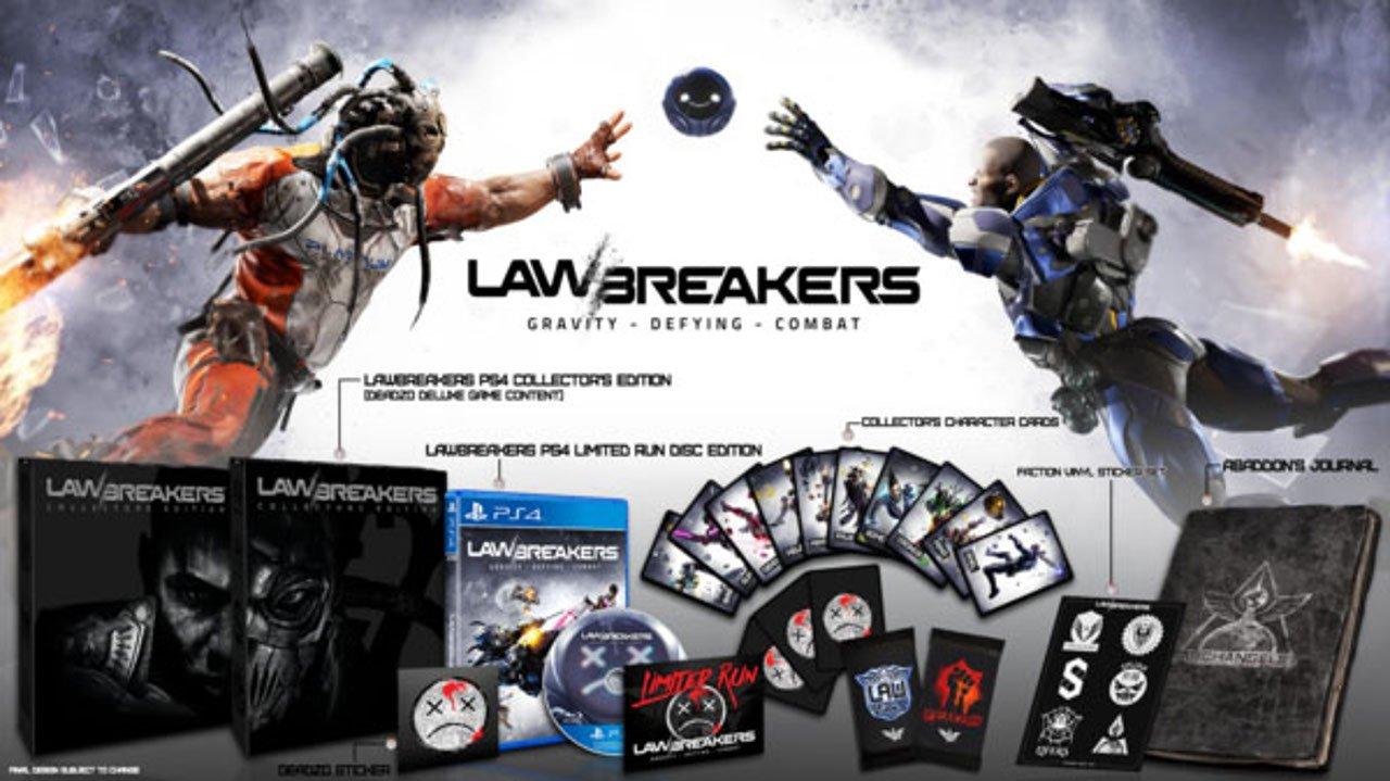 Limited Run Games annuncia Collector ed edizione fisica per LawBreakers