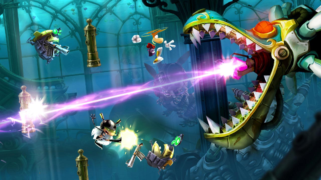 Rayman Legends switch trailer lancio