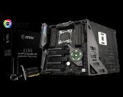 MSI presenta la nuova scheda madre X299 XPower Gaming AC