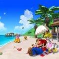 ombrellone super mario sunshine beach