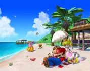 ombrellone super mario sunshine beach