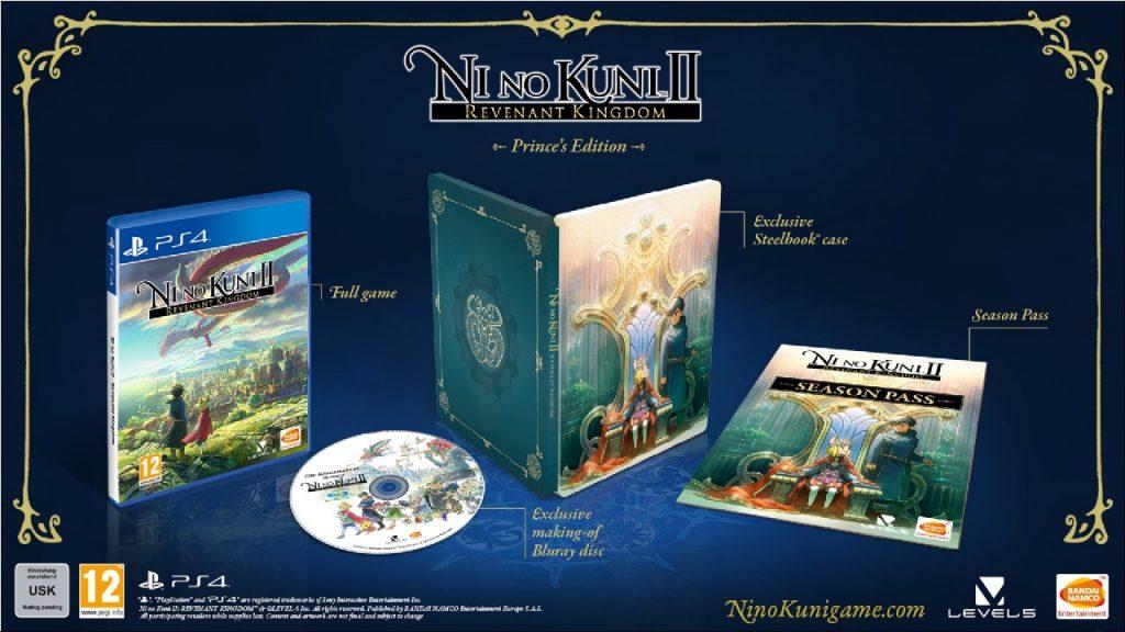 Ni No Kuni II: svelate la Prince's e la King's Edition