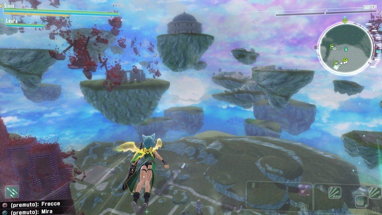 Accel World vs Sword Art Online immagine PS4 PS Vita 15