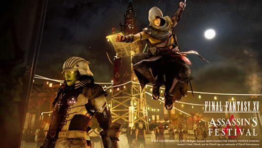 Final Fantasy XV: annunciato gratuito un DLC a tema Assassin's Creed