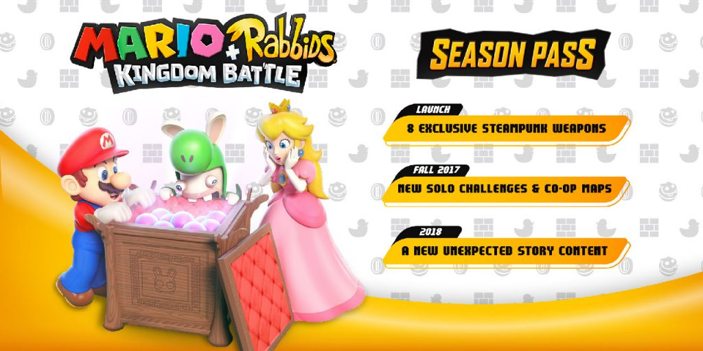 Mario + Rabbids Kingdom Battle Season Pass