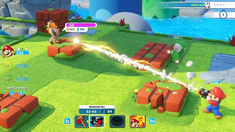 Mario + Rabbids Kingdom Battle immagine Switch 11