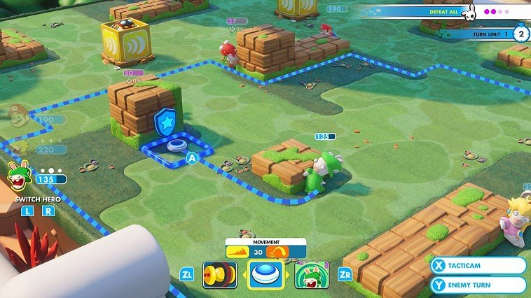 Mario + Rabbids Kingdom Battle immagine Switch 12