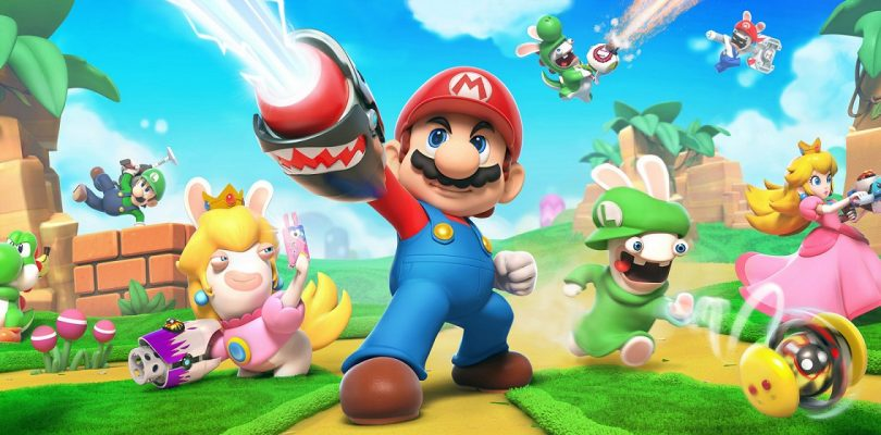 Mario Rabbids Kingdom Battle cattura video